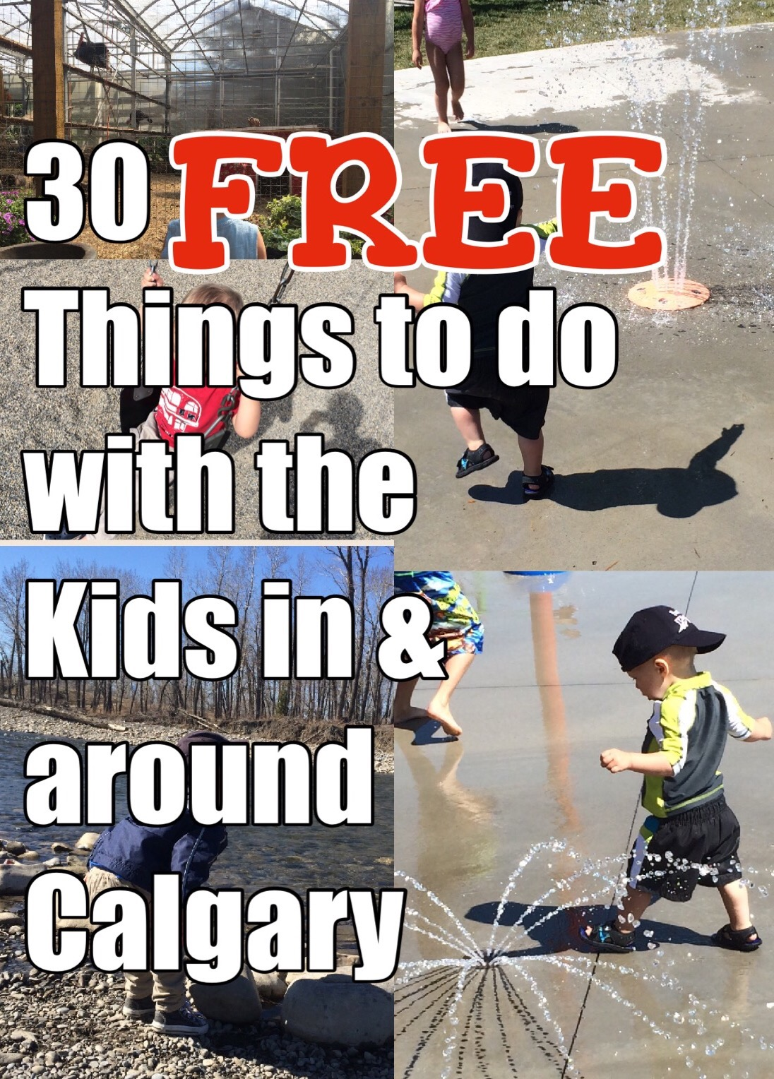 30 FREE Things to Do IN & AROUND CALGARY!